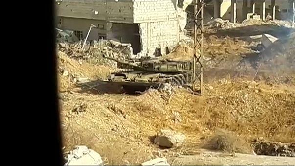 Сирийская армия отбила базу