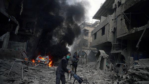 El Ejército sirio asesta un nuevo golpe a los rebeldes rompiendo el cerco en Harasta
