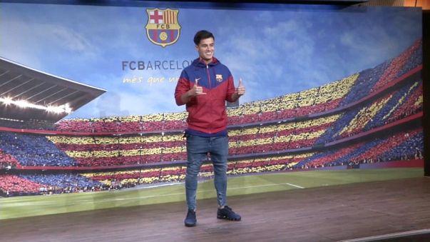 Philippe Coutinho Barselona'da
