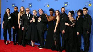 Il red carpet dei Golden Globes si tinge di nero