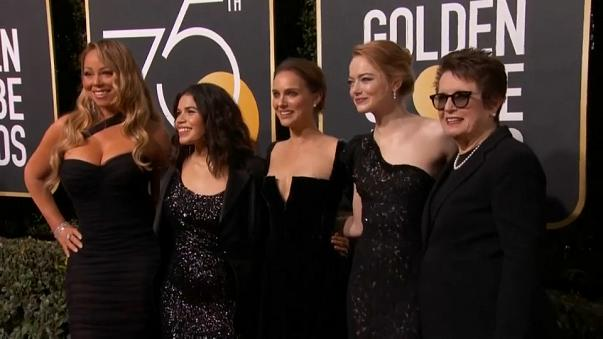 Des Golden Globes sous le signe de #MeToo et Time's up