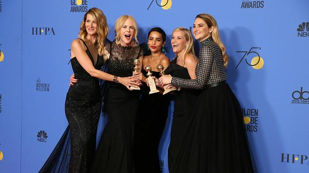 Red carpet dressed in black as Golden Globes unite against sexual misconduct