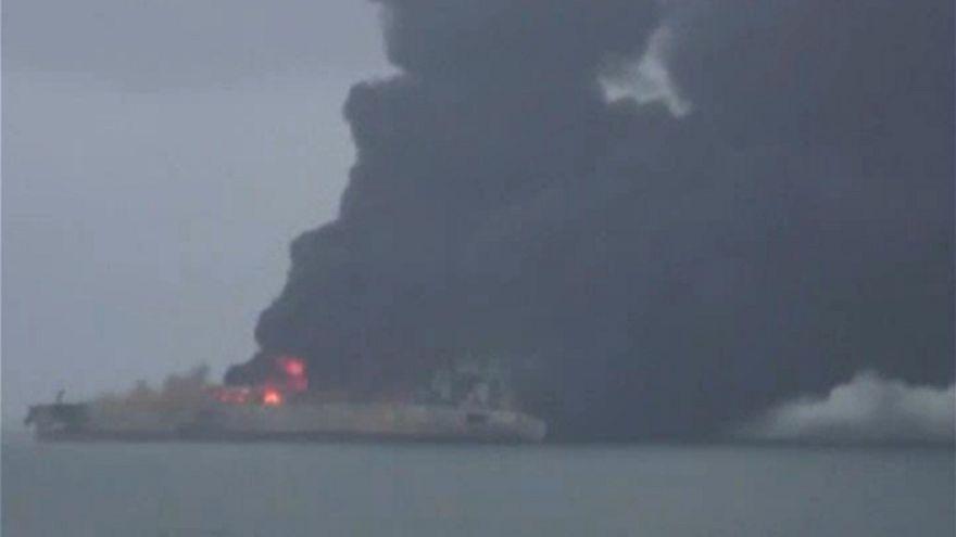 Áldozata is van az iráni olajtanker balesetének