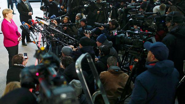 Sondierungsgespräche: Europa im Mittelpunkt