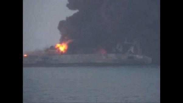 Çin'de gemi kazası