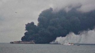 Risque de marée noire en mer de Chine