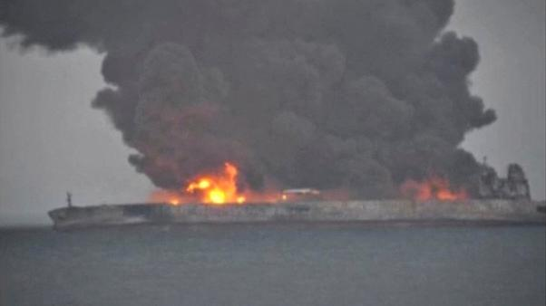 32 crew of Iranian oil tanker Sanchi are still missing