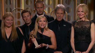 """Golden Globes: Ganz in Schwarz gegen """"Missbrauch und Belästigung"""""""