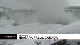Vision féerique aux chutes du Niagara