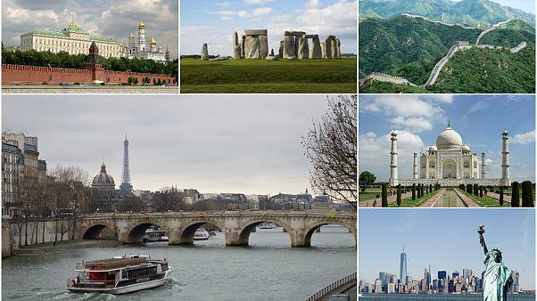 محبوب ترین مکانهای میراث فرهنگی یونسکو در ویکی پدیا