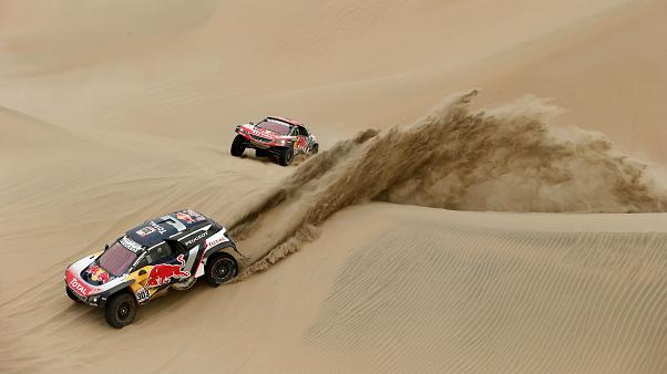 Dakar Rally Day 2: France's Despres in the lead for Peugeot