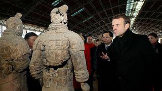 Την Κίνα επισκέπτεται ο Εμανουέλ Μακρόν