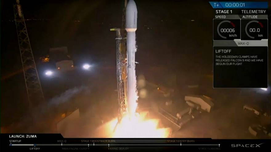 SpaceX: Geheime Mission