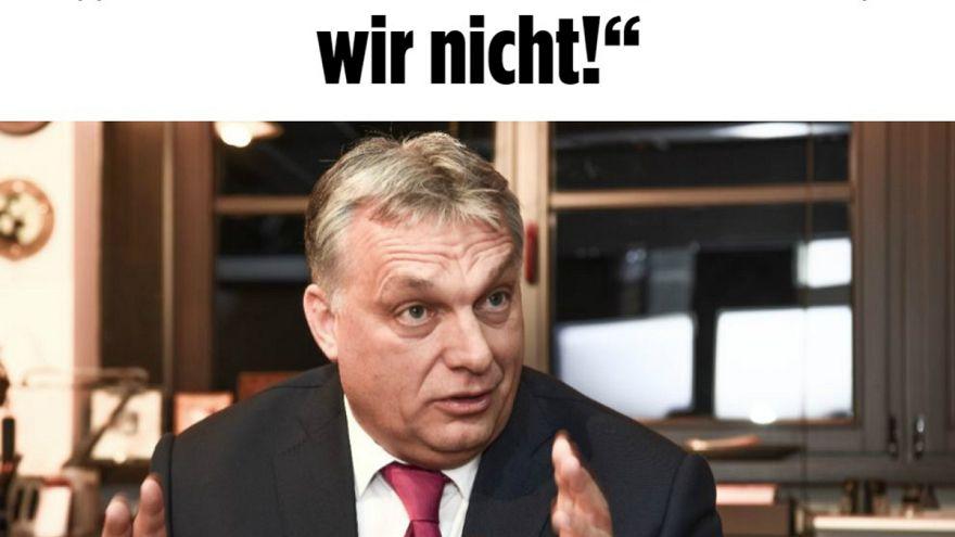 Orbán szerint Soros állam nélküli államfőnek tekinti magát