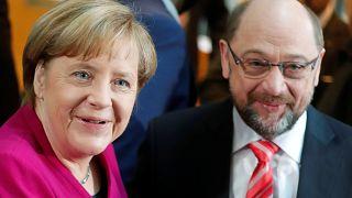 CDU e SPD desbravam caminho para uma grande coligação