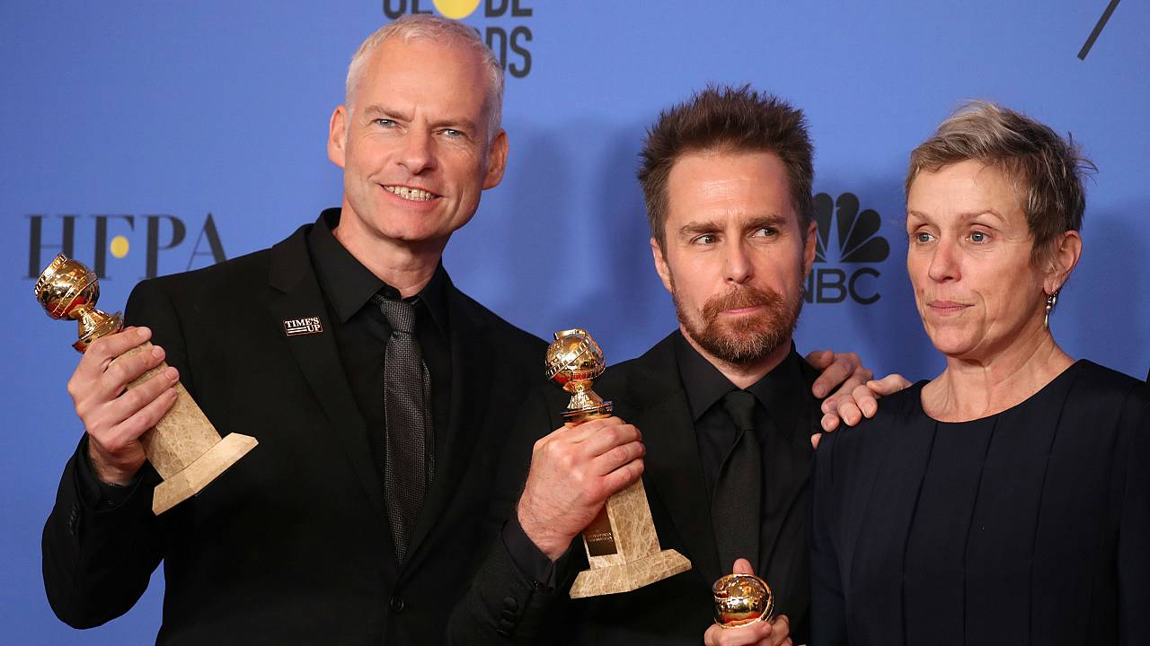 2018 Golden Globe Award winners