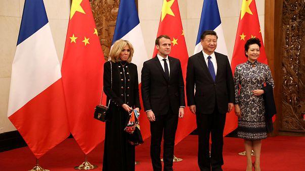En Chine, l'opération séduction d'Emmanuel Macron