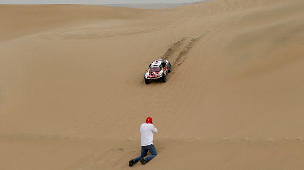 Dakar Rallisi'nde Cyril Despres liderliğe yükseldi