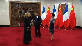 """Macron alla Cina: """"Insieme per il clima"""""""
