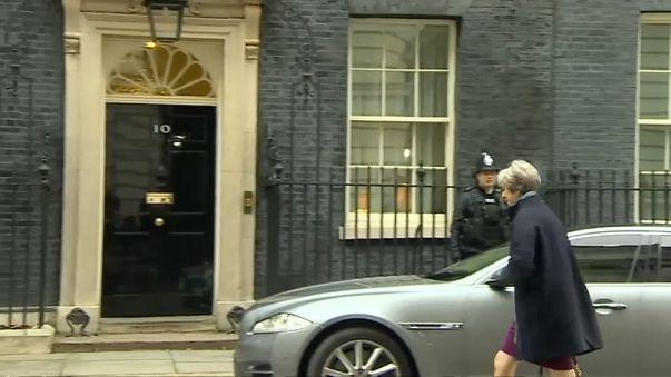 UK PM Theresa May reshuffles cabinet