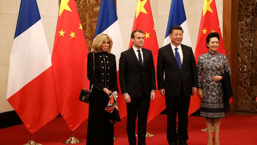 Με «βαριά ατζέντα» στην Κίνα ο Εμανουέλ Μακρόν