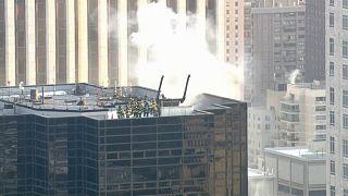 Пожар в Trump Tower