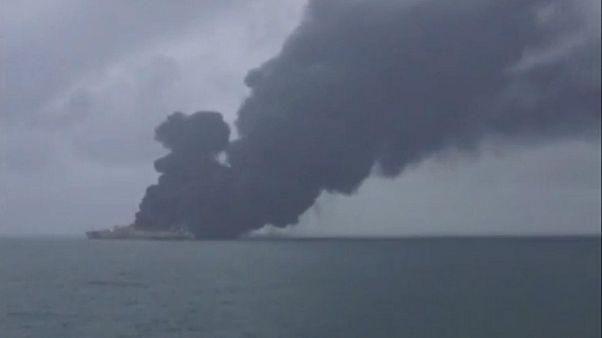 نفتکش ایرانی؛ احتمال وقوع فاجعه زیست محیطی