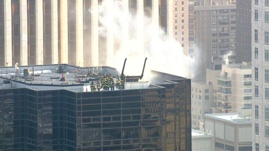 Incendio en la Torre Trump