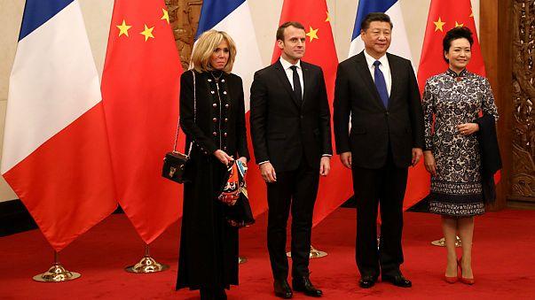 Macron quer aliança França-China contra as alterações climáticas