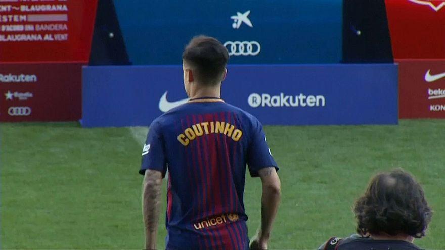 Calcio: Barcellona, presentato Coutinho