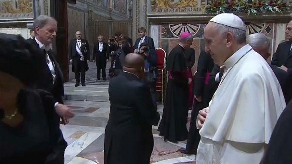El Papa llama a crear dos estados en Tierra Santa