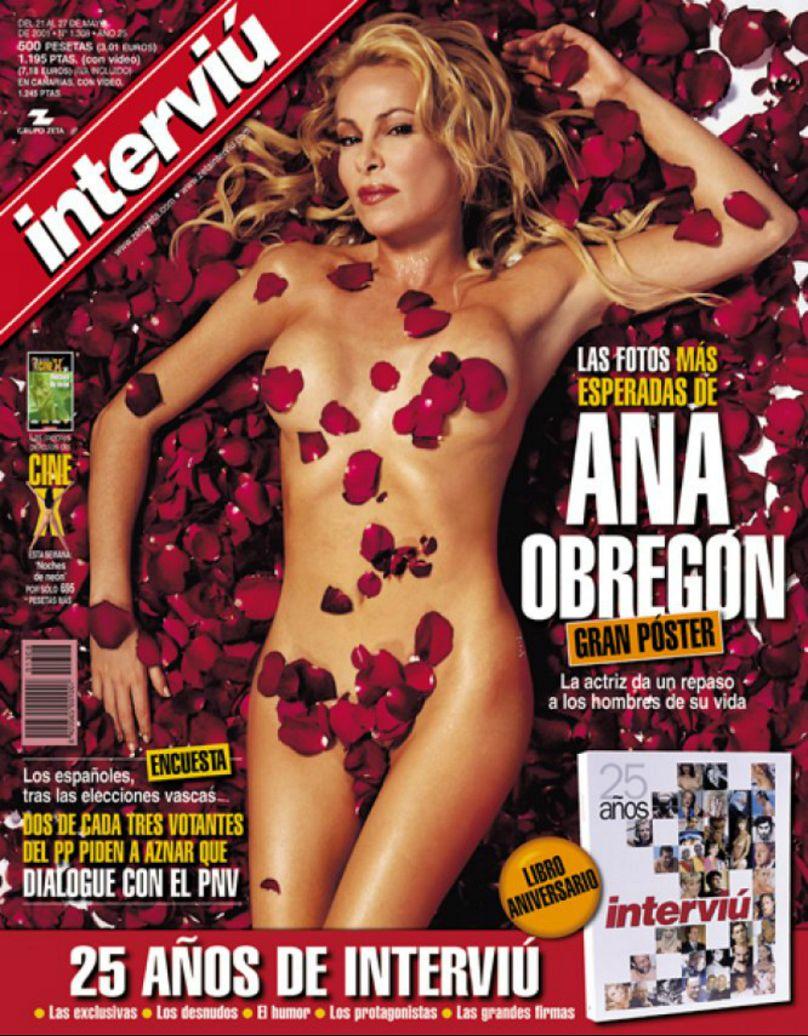 Cierran revista para adultos española en la que posó Oriana Marzoli