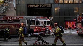 New York, incendio alla Trump Tower: due feriti