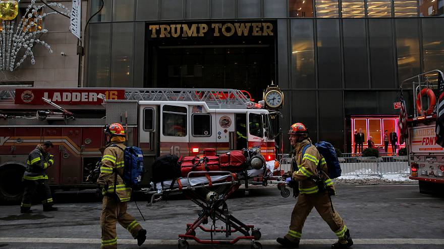 New York, incendio alla Trump Tower: due feriti