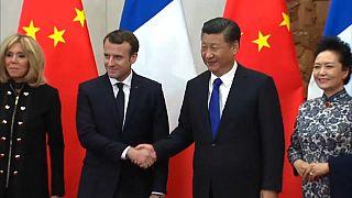 Macron propone a China una relación más equilibrada
