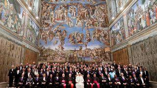 Ευχαριστίες Πάπα σε Ιταλία, Ελλάδα, Γερμανία