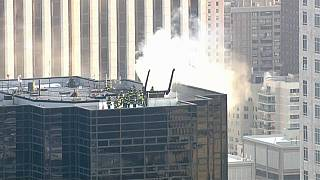 Incendie sur la Trump Tower