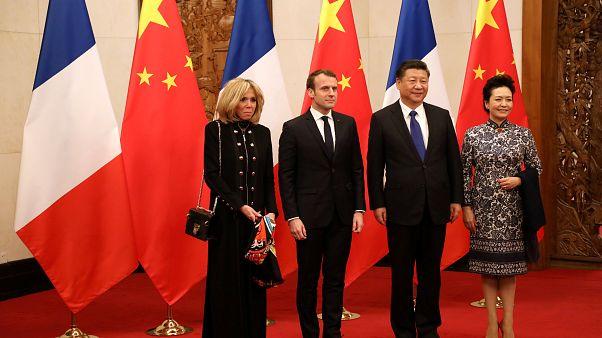 Macron 3 gün sürecek Çin ziyaretine başladı