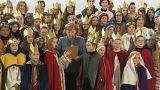 Merkel empfängt Sternsinger im Kanzleramt