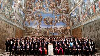 Папа римский выступил перед послами