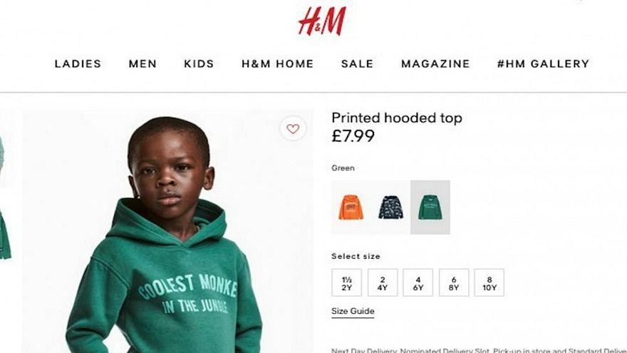 """مجموعة """"أتش أند أم"""" للألبسة الجاهزة تنشر إعلانا """"عنصريا"""""""