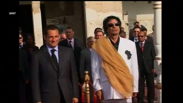 Affäre um Wahlkampf-Spenden aus Libyen: Mutmaßlicher Sarkozy-Vertrauter verhaftet