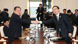 Κορέα: Πρώτη χειραψία Βορρά και Νότου μετά από δύο χρόνια