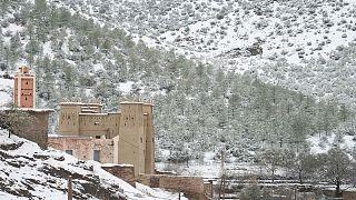 المغرب يشهد موجة من البرد القارس