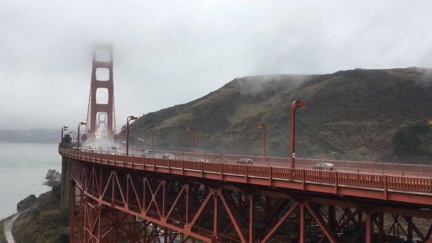California: dopo il fuoco neve e pioggia
