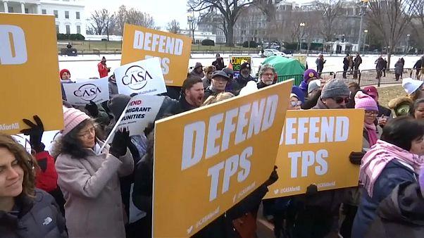 Proteste gegen drohende Abschiebung aus den USA