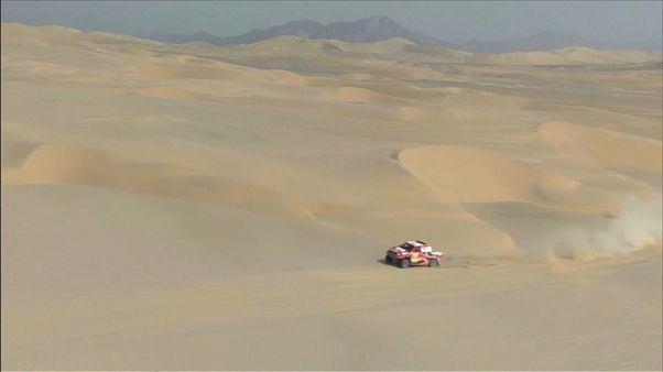 Dakar Rallisi'nde 3. etap tamamlandı