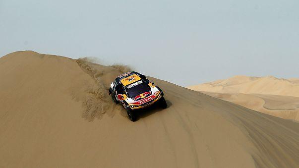 Stephane Peterhansel adaptou-se bem às dunas do Peru