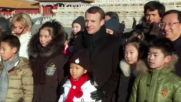 Macron in China: why is he there?