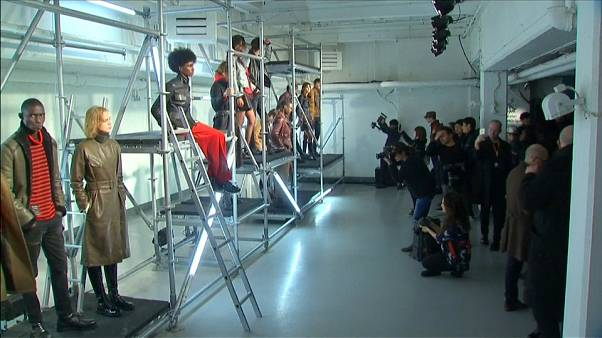 Belstaff showcases its 'Made in UK' collection at London Fashion Week Men's
